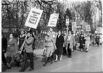 Ostermarsch 1960 - Marchas de Pascua 1960. Foto Konrad Tempel